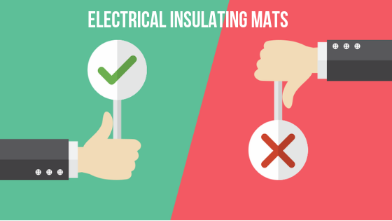 eletrical insulating mats dos and donts