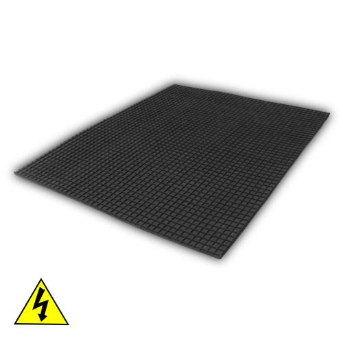 Duratuf Electrical Rubber Mat (IS 5424:1969) Black Colour Full View