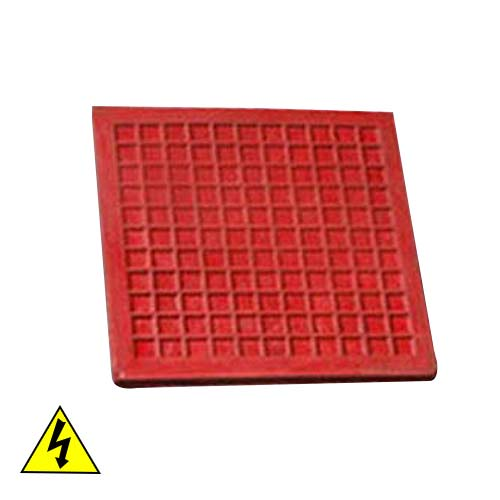 Duratuf Electrical Rubber Mat (IS 5424:1969) Red Colour