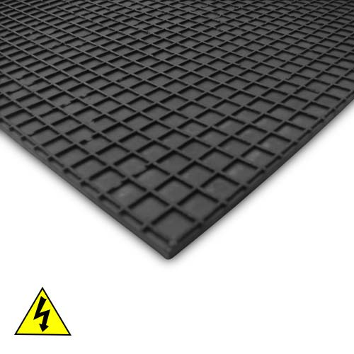 Duratuf Electrical Rubber Mat (IS 5424:1969) Black Colour