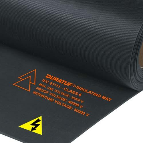 Duratuf Insulating Mats, Class 4 IEC 61111, Black