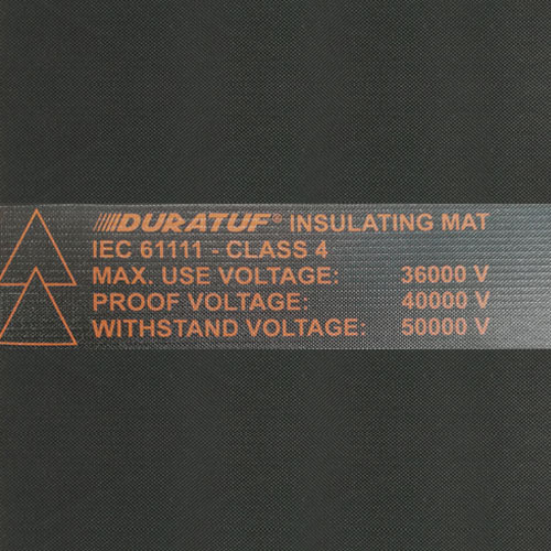 Duratuf Electrical Rubber Mats with IEC 61111 Marking