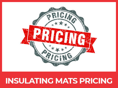 insulating mats prices