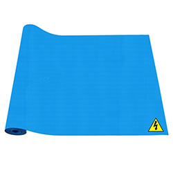 X-Volt Electrical Insulating Mats Blue Colour