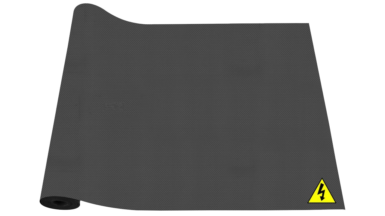 X-Volt Insulating Mats (Black Colour) Roll View