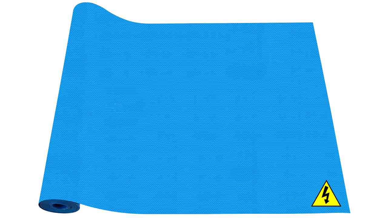 X-Volt Insulating Mats (Blue Colour) Roll View